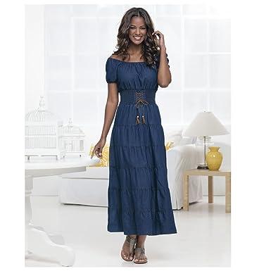 Blue dress uk 49s