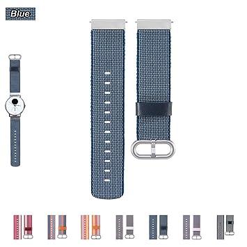 Bemodst Correa Reloj para Nokia Steel/Nokia Steel HR/Nokia WITHING Steel/ Nokia