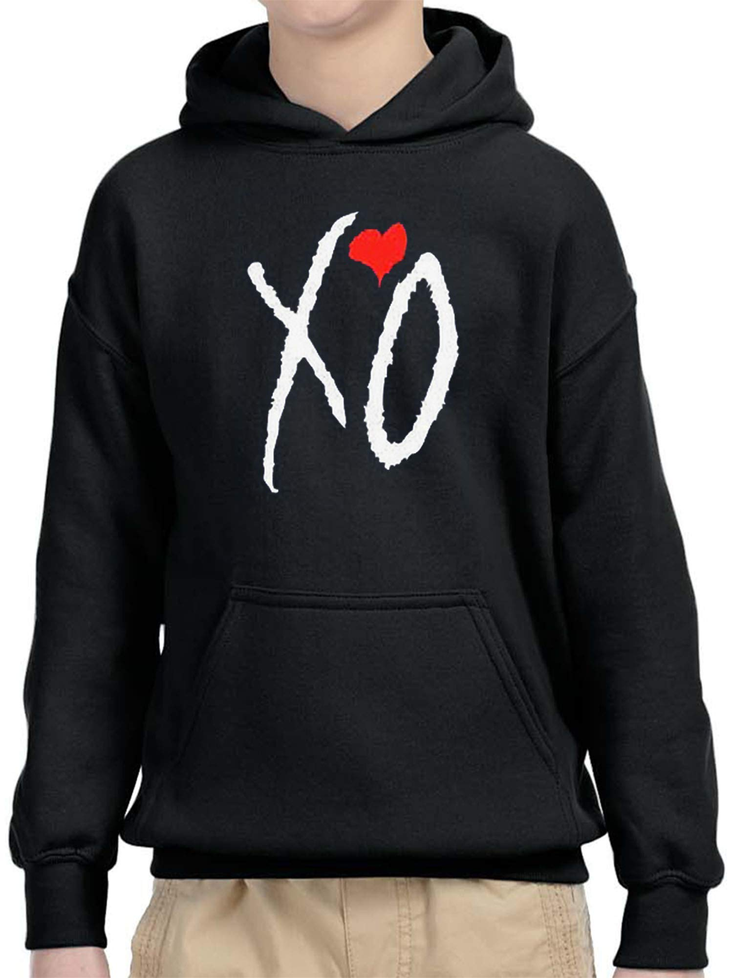189 Xo The Weeknd Heart Letters Unisex Pullover Shirts