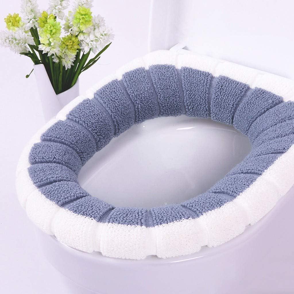 Antibatterico Lavabile 95sCloud Copri WC e copriwater con Cuscino Spesso Termico Caldo Copri WC Universale