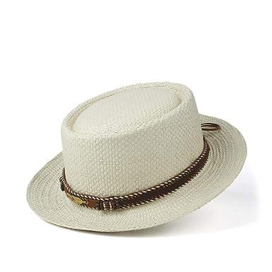GHC gorras y sombreros Sombrero de paja del temperamento de la ...