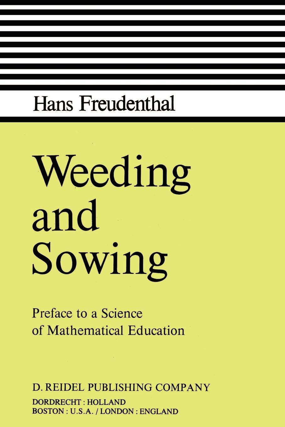 Amazon com: Weeding and Sowing: Preface to a Science of