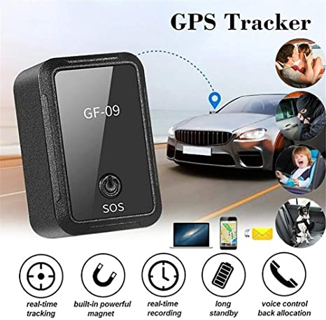 Amazon.com: Alician GF-09 Mini GPS Tracker APP Control Anti ...