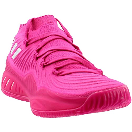 new arrival eeac8 91aee adidas Crazy Explosive Low Shoe Men s Basketball 12.5 Shock Pink-White