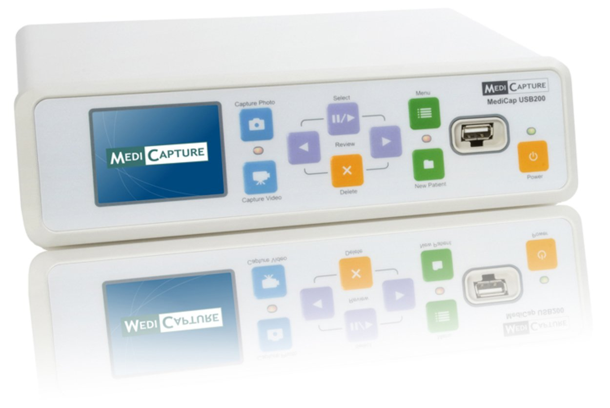 MEDICAPTURE MediCap USB200 Standard Definition Medical Video Recorder, Easy Standard Definition Recording, Records DVD-Quality Video and Still Images from Your Existing Medical Imaging Equipment by MEDICAPTURE