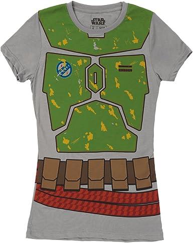 Star Wars Womens Juniors Boba Fett T-Shirt