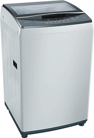 Bosch 7kg Fully Automatic Top Loading Washing Machine (WOE704Y0IN, Grey)