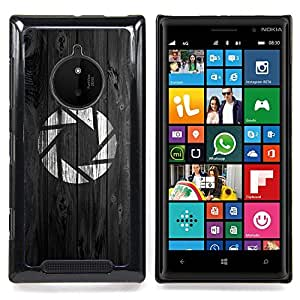 For Nokia Lumia 830 - Portal Aperture Game Gaming Dise???¡Ào Protecci????n Cubierta de la caja ultra delgada de Snap de pl????stico duroco duro - God Garden -
