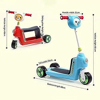 XINCH Andador para bebés, triciclos para niños Multiusos ...