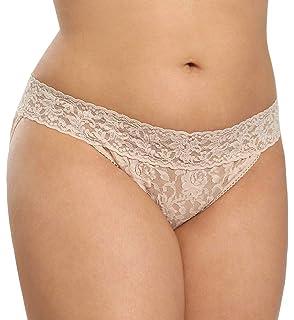 bc898b3c7a99 Hanky Panky Women's Plus Size Organic Cotton Signature Lace French ...