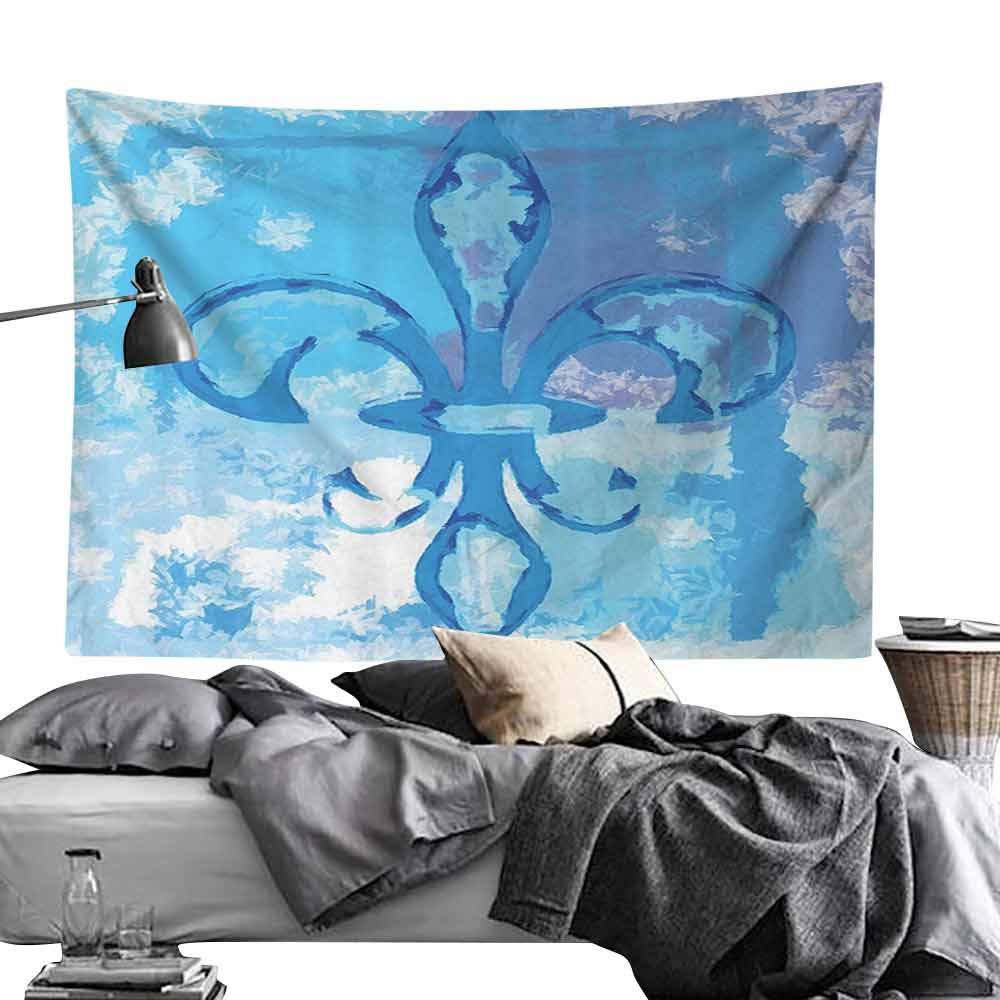 Homrkey Tapices de Pared con diseño de Flor de lis, decoración ...
