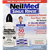 NeilMed Sinus Rinse Complete Kit, 50 Count