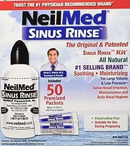 NeilMed Sinus Rinse Complete Kit, 50 Count
