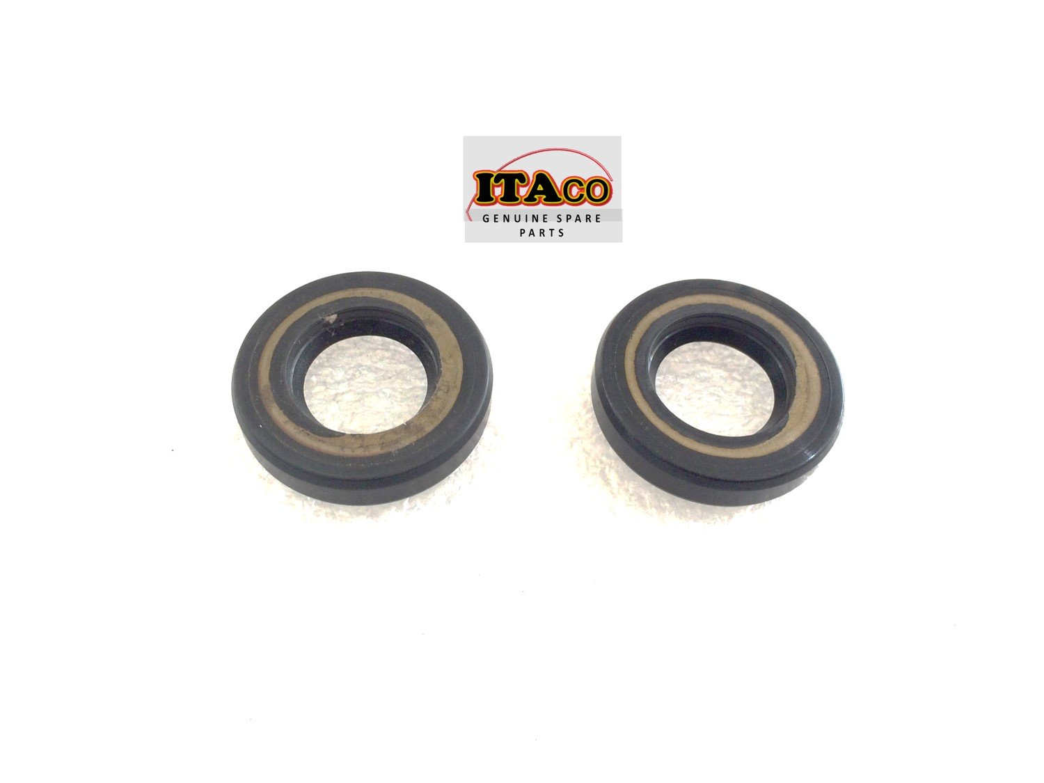 2 x S-Type OIL SEAL SEALS 93101-15074 15 x 28 x 6 fit Yamaha Outboard 5D,6HP, 8HP, F6HP, F8HP, F9.9HP 2& 4 stroke