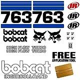 Bobcat 763 Skid Steer Set Vinyl Decal Sticker 19pc