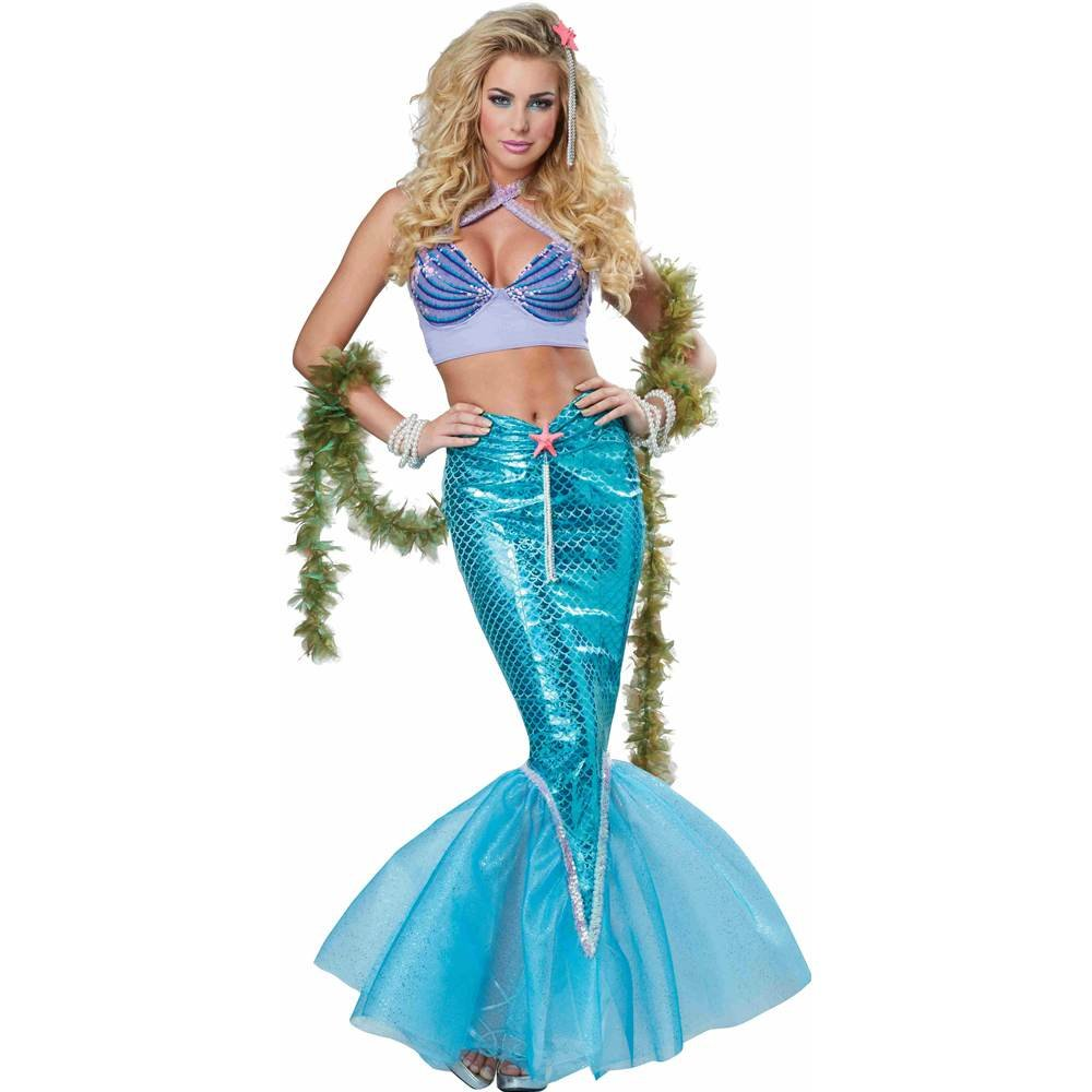 Mermaid Eye Candy Deluxe Adult Costume