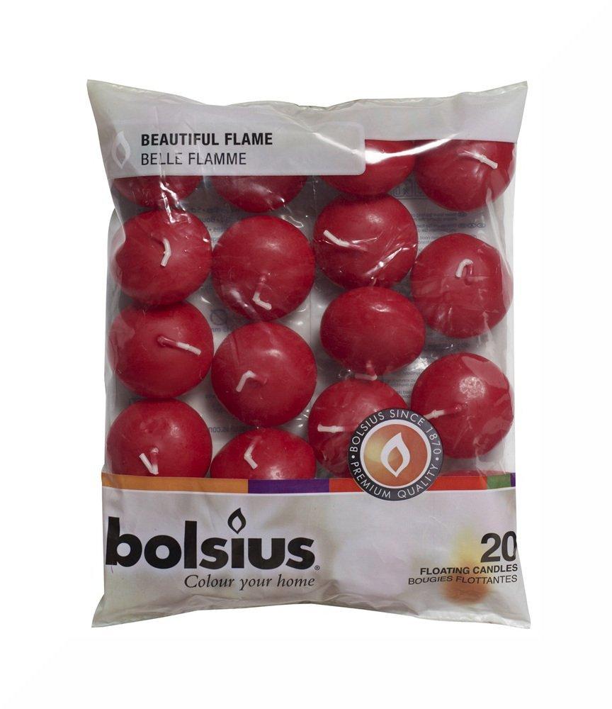 BOLSIUS 20 FLOATING CANDLES [Ivory] x 1