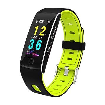 Montre Connectée Bluetooth 4.0 Étanche Sports Moniteur Fréquence Cardiaque Podomètre Calories Sommeil Contrôle de Caméra pour