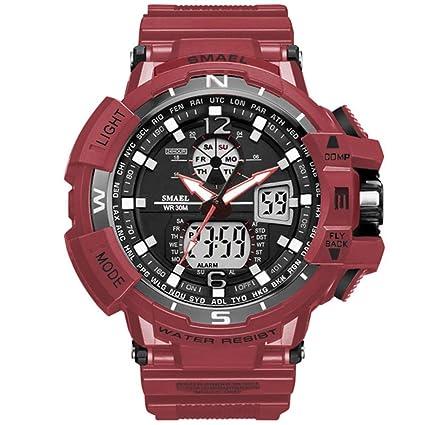 SW Watches Relojes Sport Men Reloj Marca Shock Reloj De Hombre Cuarzo Digital Relojes LED Hombres