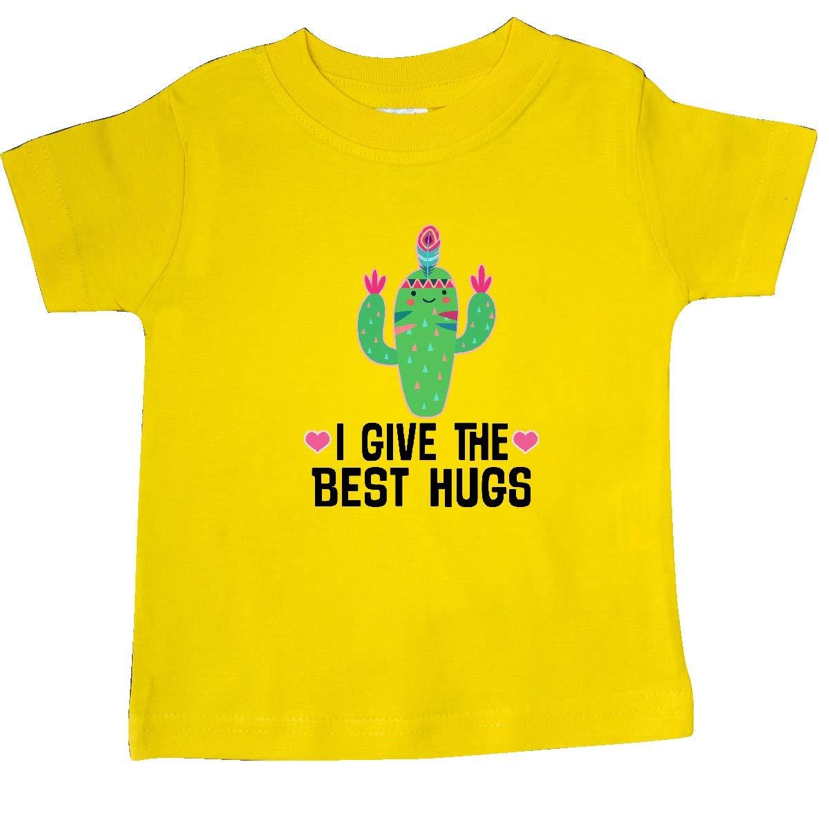 inktastic Cactus Cute Girls Best Hugs Baby T-Shirt