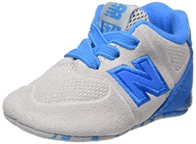 New Balance 574 High Visibility, Zapatillas Unisex bebé, (Grey/Blue), 15 EU: Amazon.es: Zapatos y complementos