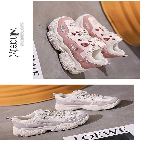 Dilnot Zapatillas para Mujer Correr Gimnasio Sneakers Zapatos de ...