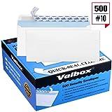 ValBox #10 Security Self-Seal Envelopes