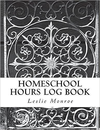Homeschool, Hours Log, Journal, Missouri