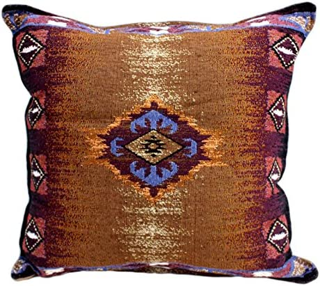 Simply Home 16 Cotton Woven Southwestern Style Throw Pillow
