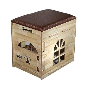 Mochila Casa de mascotas de madera de la casa para mascotas pequeña del perro de la