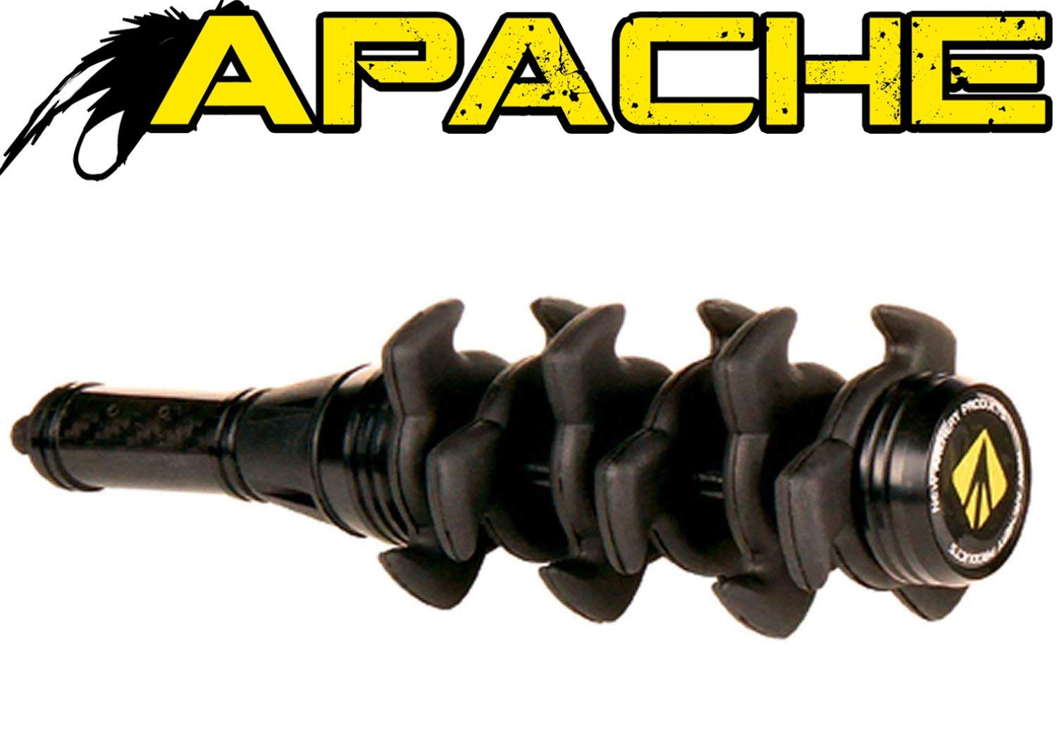 New Archery Products NAP Black Apache Stabilizer 8 Inch Stealth Dampening
