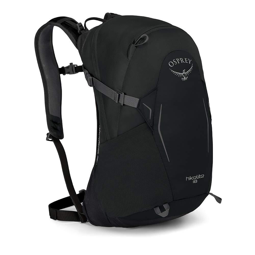 Osprey Packs Hikelite 18 Backpack, Black, One Size