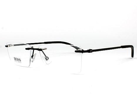 e6cbba0d363b Amazon.com: Hugo Boss frame (BOSS-0941 2P4) Metal - Carbon Fiber ...