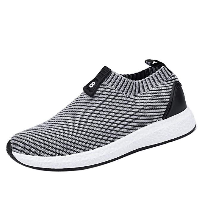 design senza tempo 3a810 76b8c iHAZA Elegante Uomo Traspirante Sneakers Scarpe Da Running ...
