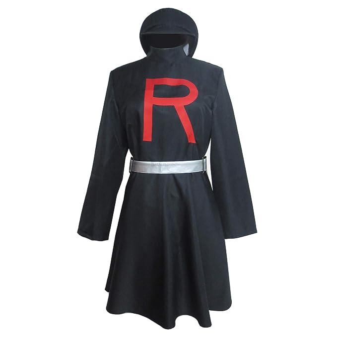 Amazon.com: Team Rocket Jessie traje ropa cosplay disfraz de ...