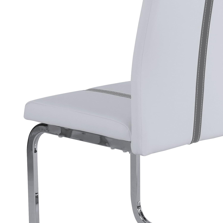 LUOLLOVE Sitzbez/üge Auto Universal Leder Bambus-Kohle-atmungsaktiv f/ür Vordersitze 2St/ücke Grau 21.8 x 20.1 Inches