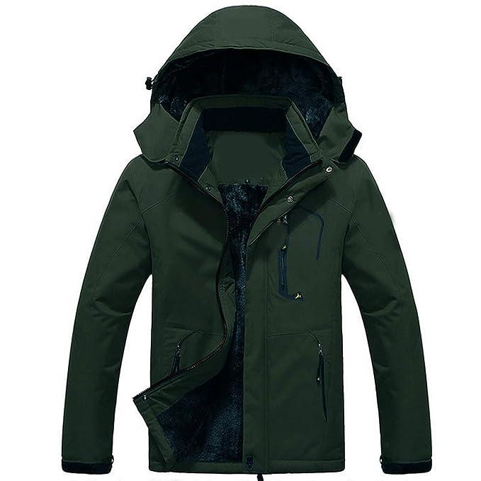 Functionaryb Lujo Abrigo de la Chaqueta de Invierno de Los Hombres de Terciopelo Negro Parka para