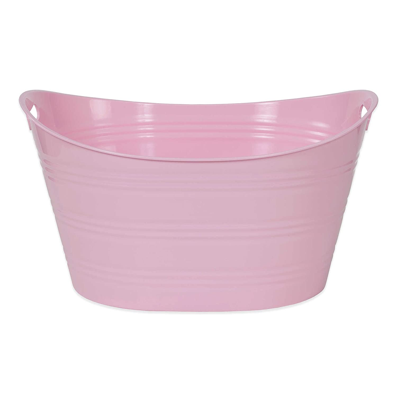 Creative Bath Storage Tub (Light Pink)