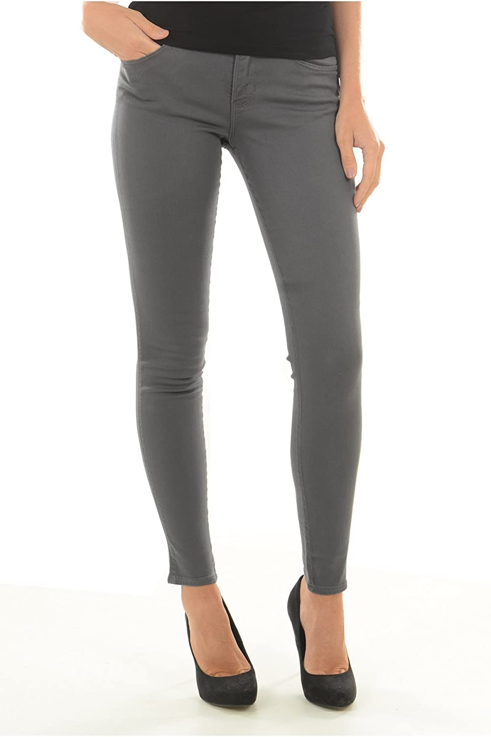 Guess Jeans Mujer Gris Oscuro W64AJ2W7YE1 - G903