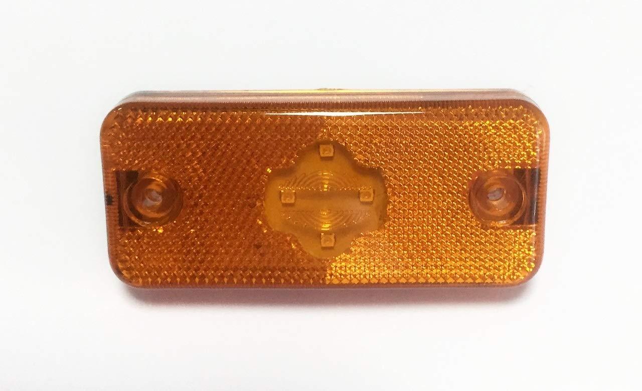 Magnum Boxer 2006 Premium FM2 Midlum Ducato 2006 4x LED orange indicator side marker lights lamps for FE2 Kerax