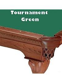 8u0027 Tournament Green ProLine Classic 303 Billiard Pool Table Cloth Felt