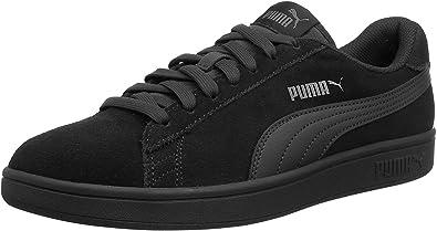 Puma Suede Classic+ Baskets mode Mixte Adulte Noir (black dark shadow) 43 EU