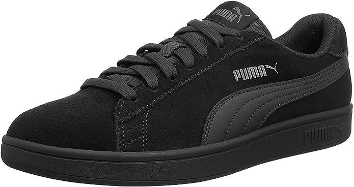 Puma Smash V2 Sneakers Unisex Damen Herren Komplett Schwarz