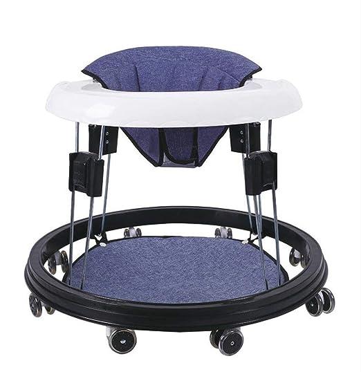 MINISU Infantil Andador para bebés 6/7-18 Meses Pasos Plegables ...