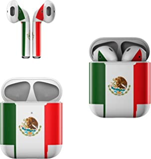 product image for Skin Decals for Apple AirPods - Mexican Flag - Sticker Wrap Fits 1st and 2nd Generation