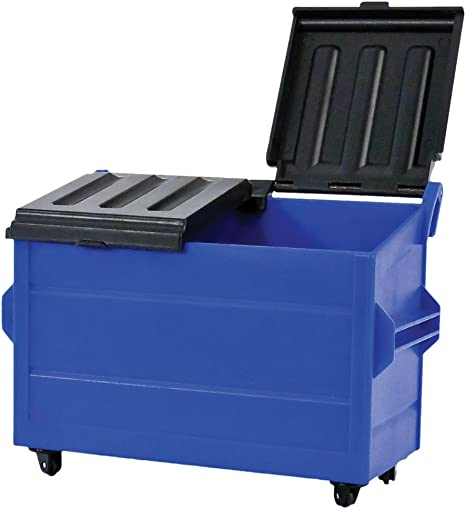 Blue Plastic Toy Dumpster for WWE Wrestling Action Figures: Amazon.ca: Toys  & Games