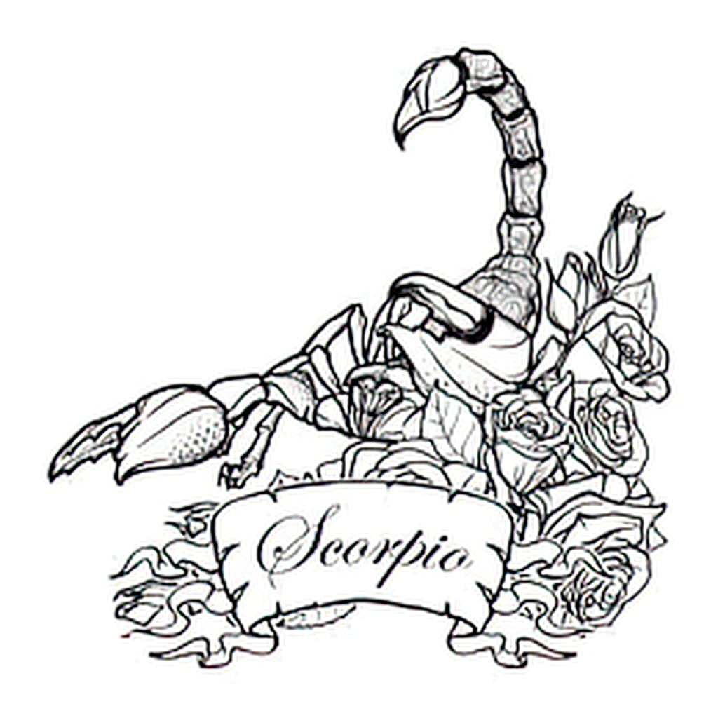 Scorpio Zodiac Sign Tattoos