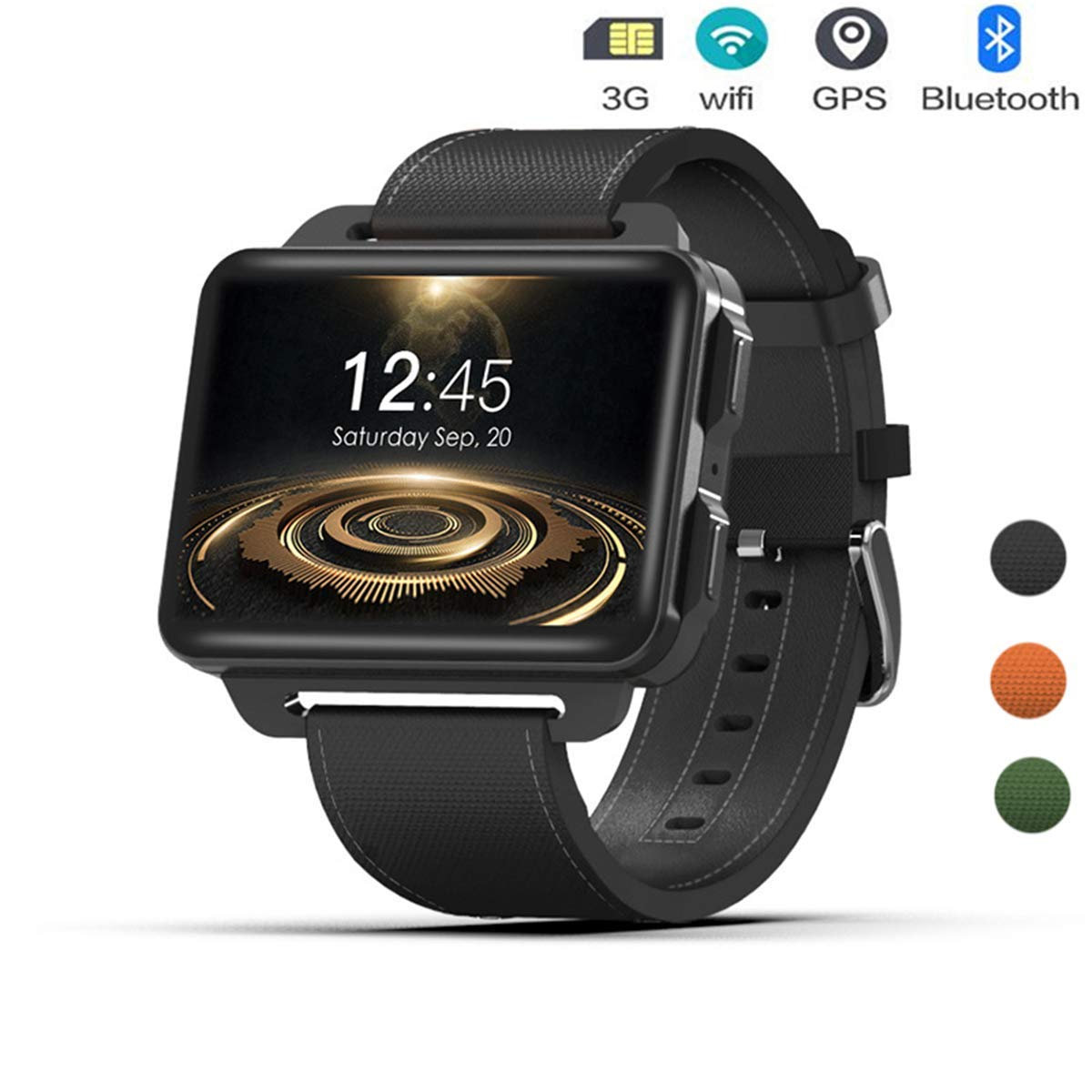 ACZZ 3G Smart Watch Phone, Mt6580 Quad Core 1.3Ghz 1Gb Ram ...