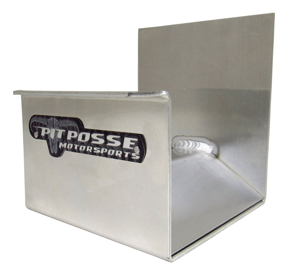 Pit Posse 470 Large Cord Hanger Holder Cord Hose Hanger Enclosed Race Trailer Shop (Silver/Unpainted)