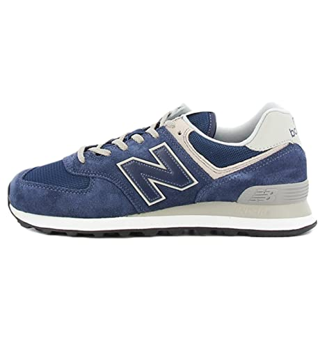 Scarpa 574 EGN New Balance colore blu per uomo New Balance ML 574EGN BLU